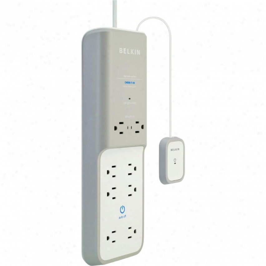 Belkin 8 Outlet Conserve Surge Protector With Timer Surge Suppressor