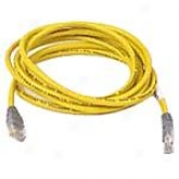 Belkin A3x126-7ylm 7-foot Cat 5e Utp Crossover Cable (yellow)