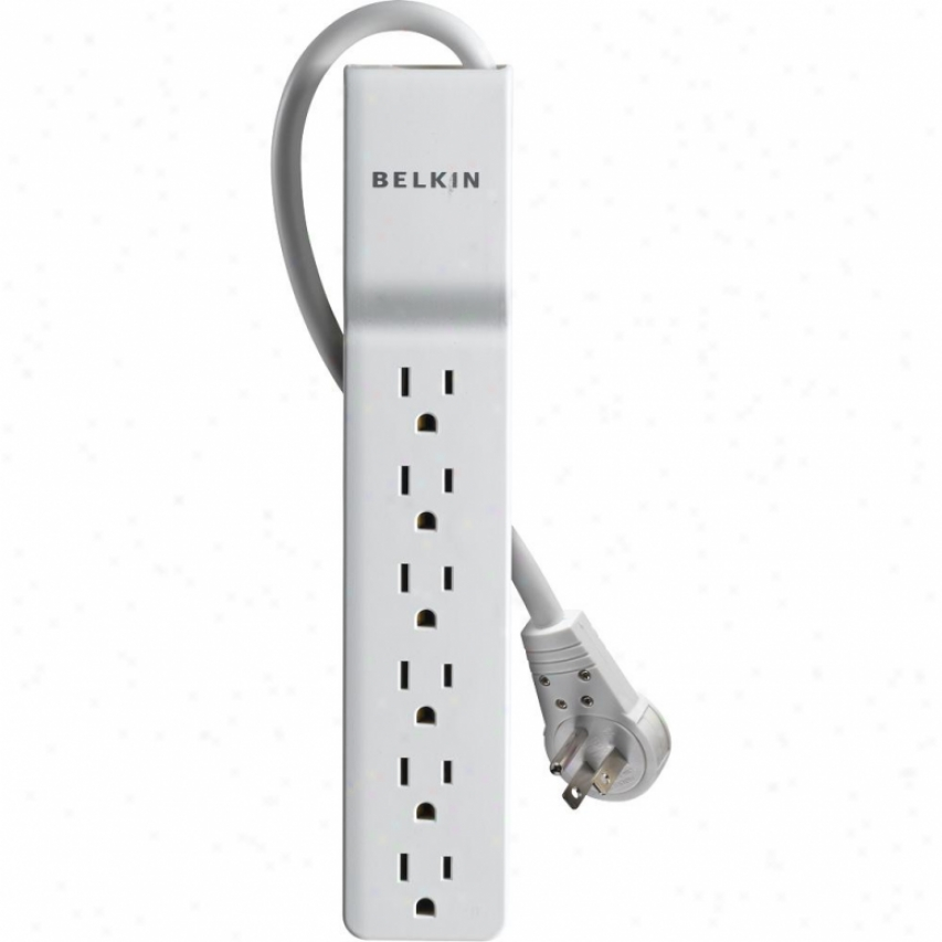Belkin Be1060016r 6 Outlet Home/office Surge Protector