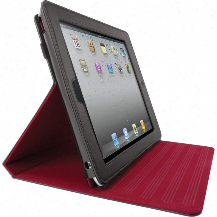Belkin Leather Folio Case With Stand Ipad2 F8n613ttc01