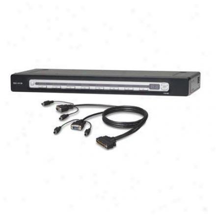 Belkin Pro3 8-port Kvm Switch/4 Cable