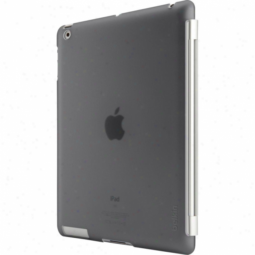 Belkin Snap Shield For Unaccustomed Apple Ipad 3 - Black F8n744ttc00