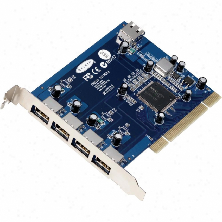 Belkin Usb 2.0 5-pot Pci Card