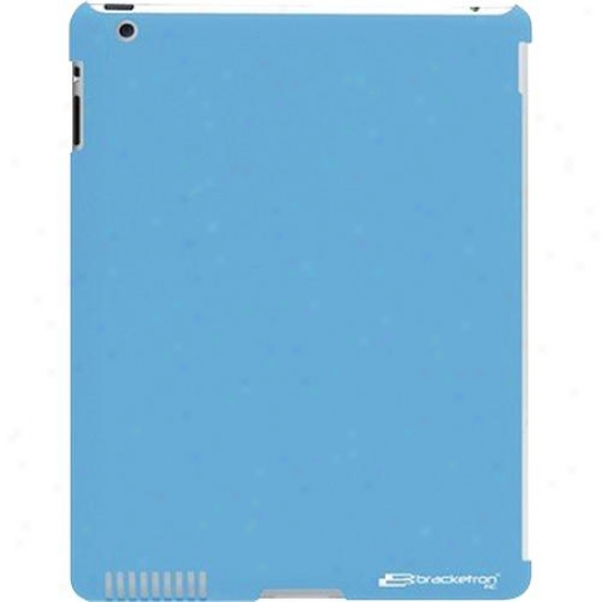Bracketron Back-it Portable Ipad 2 Hard Case - Blue - Org-332-bx
