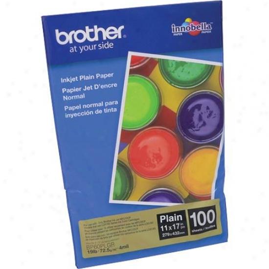 "Brother Bp60plgr 11"" X 17"" Inkjet Plain Paper"