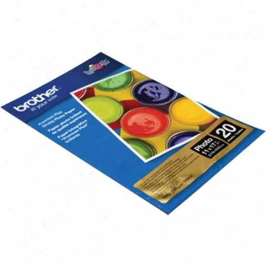 Brother Bp71glgr Ledger-size Glossy Photo Paper