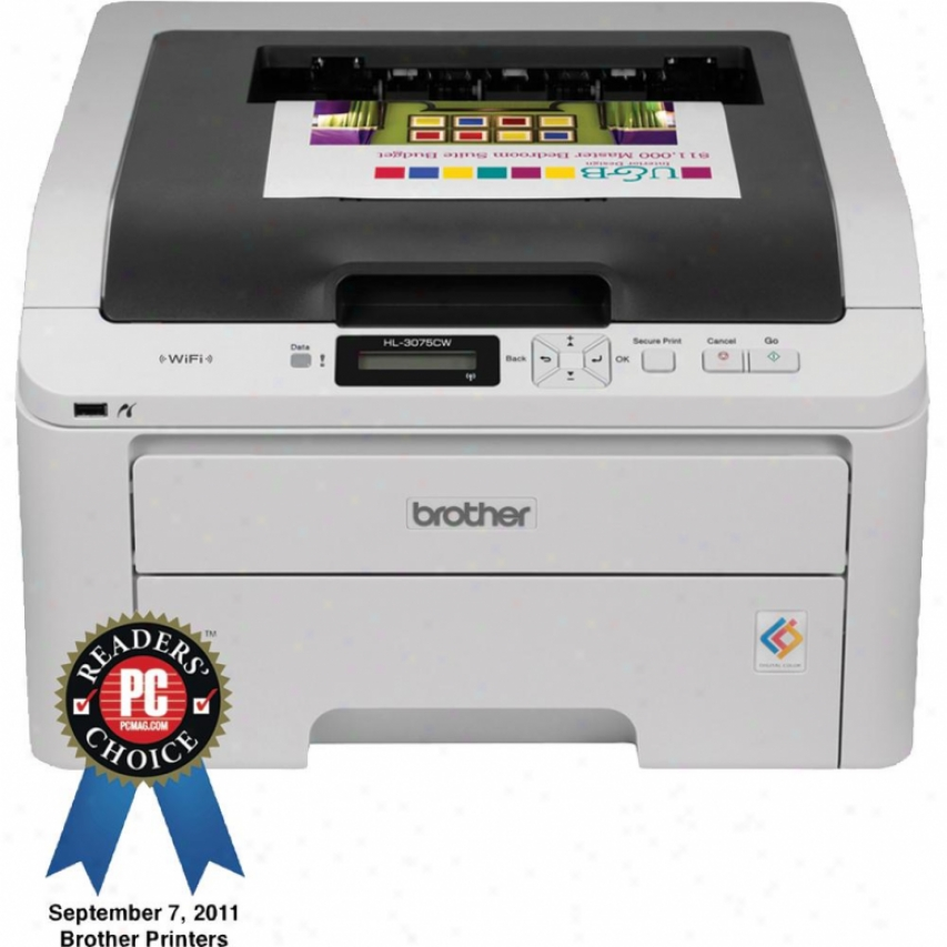 Brother Hl-3075cw Wireless Color Led-laser Printer