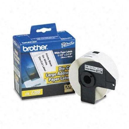 Brother Large Address Paper Label