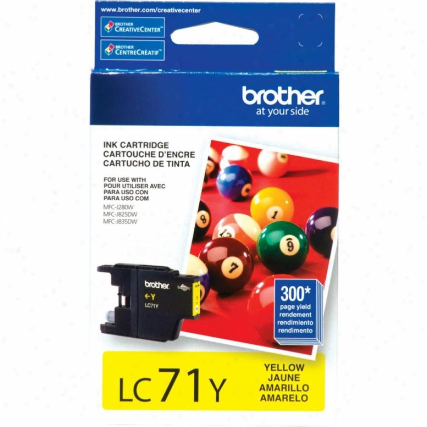 Brother cL71y Yellow Ink Cratridge
