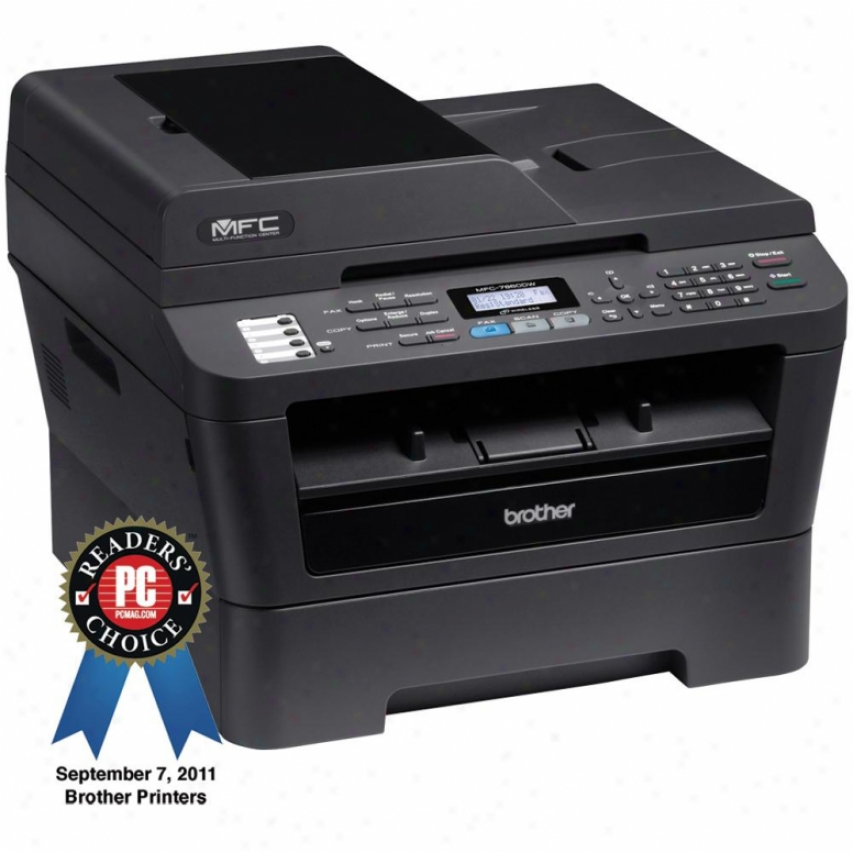Brother Mfc-7860dw Wirekess All-in-one Laser Printer
