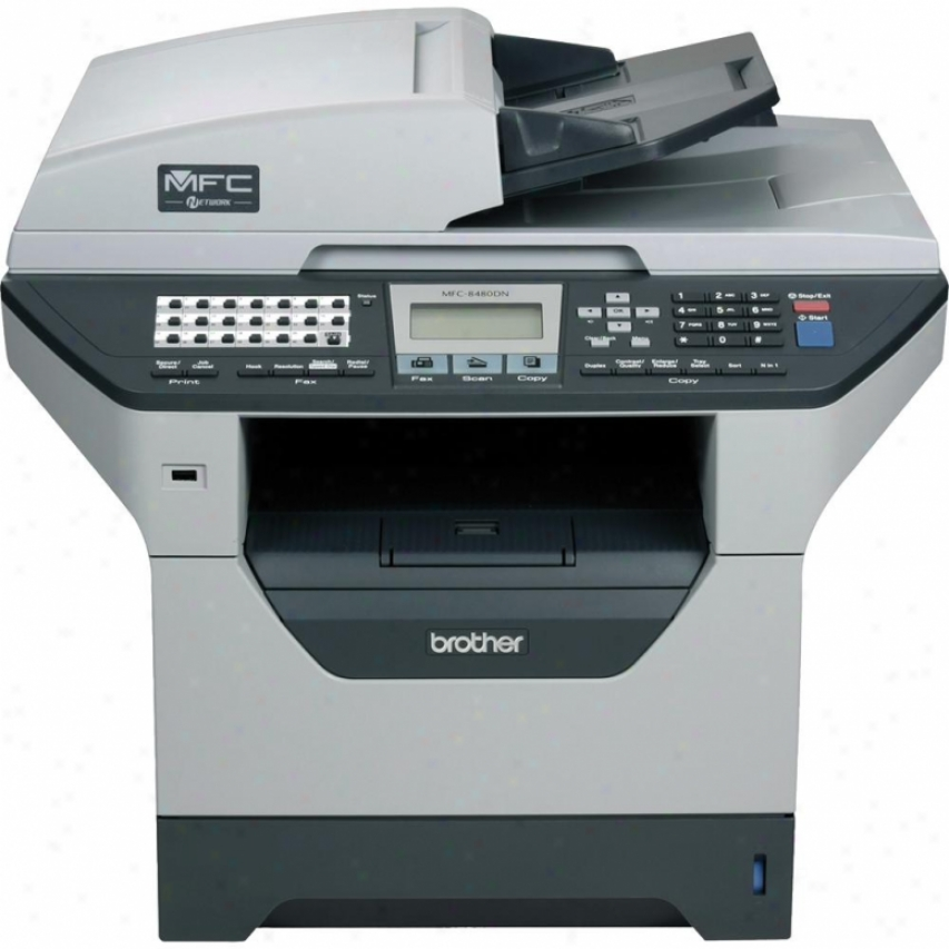 Brother Mfc-8480dn Multifunction Printer - Scanner - Copier - Fax
