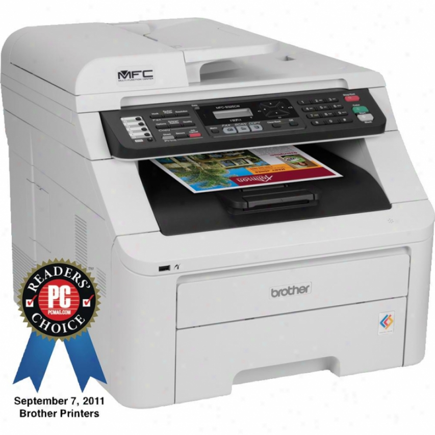 Brother Mfc-9325cw Network Digital Color Multifunction Center All-in-one