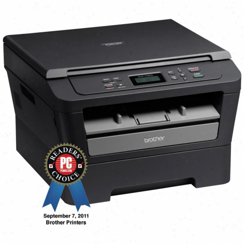 Brother Monochrome Laser Multofunction Printer Print/copy/scan - Dcp-7060d