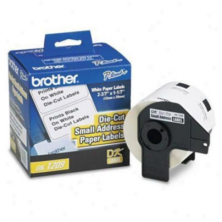 Brother Little Address Paper Label