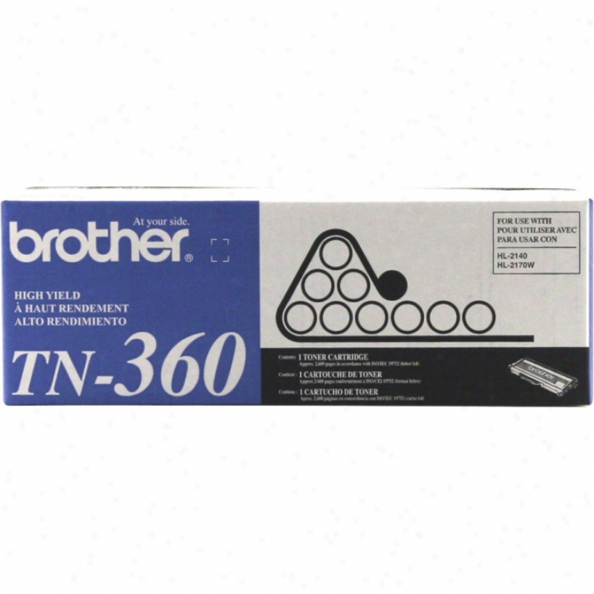 Brother Tn-360 High Yield Toner