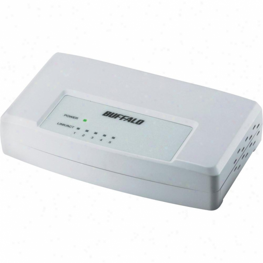 Buffalo Technology 5-port 10/100mbps Switch
