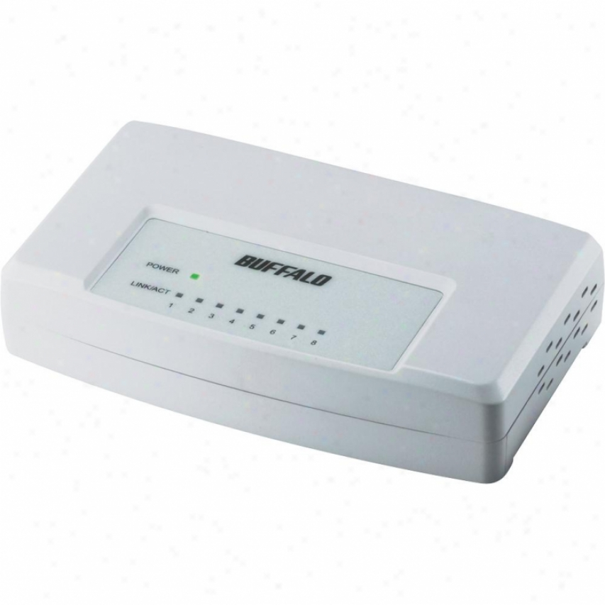 Buffalo Technology 8-port 10/100mbps Switch