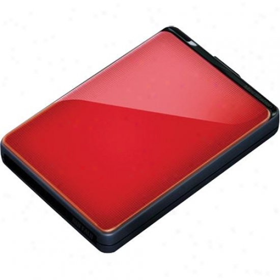 Buffalo Technology Ministation Plus 500gb Hdd Hd-pnt500u3 - Red