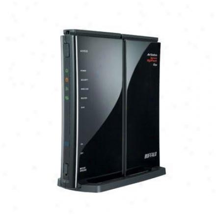 Buffalo Technology Nfiniti Wireless-n High Power Router