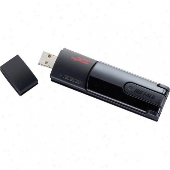 Buffalo Technology Nfiniti Wireless-n High Power Usb 2.0 Adapter - Wli-uc-g300hp