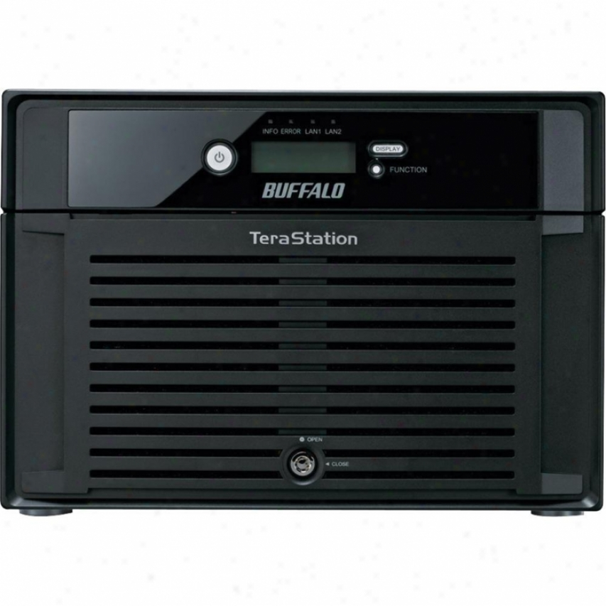 Buffalo Technology Terqstation Pro 8 24tb (8 X 3tb) 8-bay Nas - Ts-8vh24tl/r6