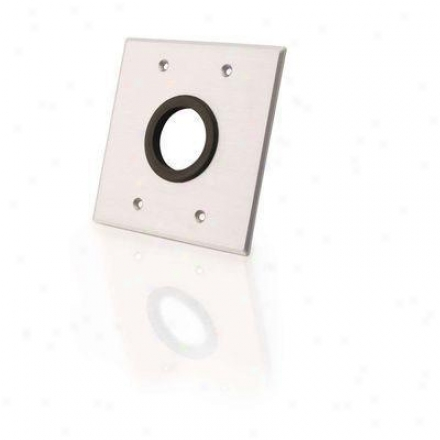 """Cables To Spirit 1.5"""" Grommet Wall Plate"""