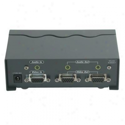 Cables To Go 2-p Splitter/extender W/audio
