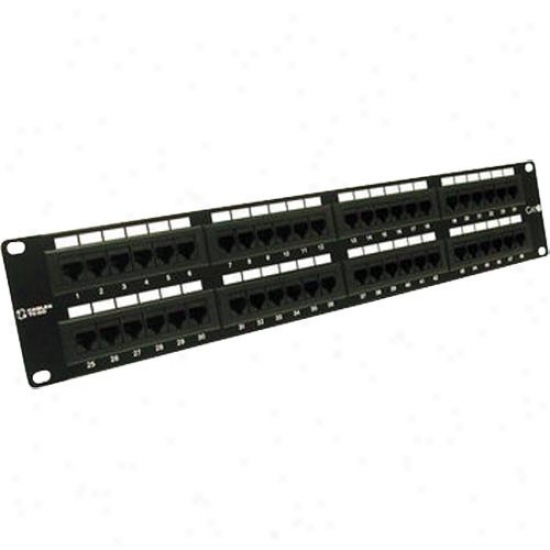 Cables To Go 48-port Cat6 110 Patch Panel