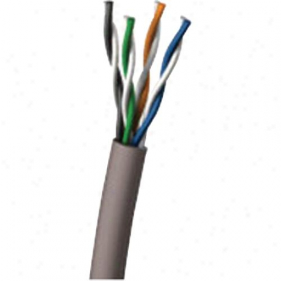 Cables To Go 500' Cat5e 100mhz Pvc Cmr Grey