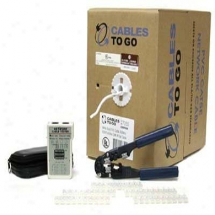 Cables To Go 500&039; Network Cable Kit