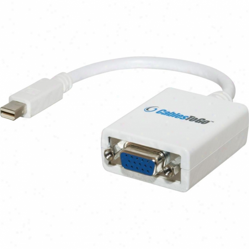 Cables To Go Mini Displayport Male To Hd15 Female Adapter 54163