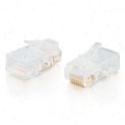 Cables To Go Rj45 Cat5 Modular Plug -100 Pk