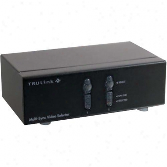 Cables To Go Trulink 2-port Qxga Monitor Switcher/extender - 39901