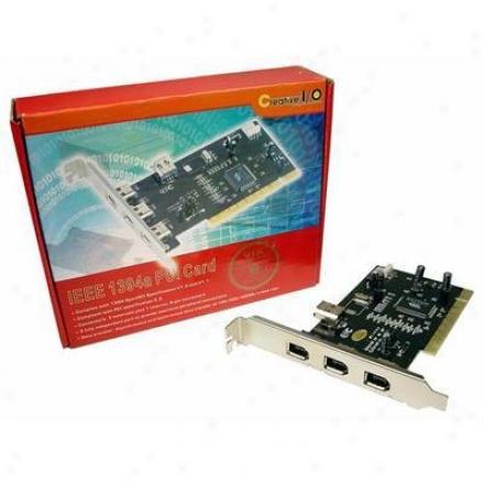 Cablss Unlimited 4port Firewire 1394a Pci Card