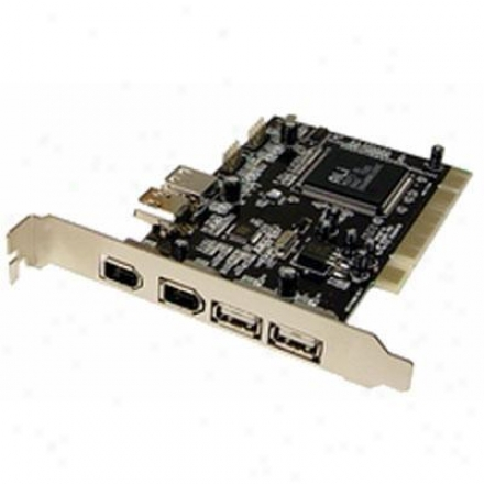 Cables Unlimited Usb2.0&firewire 1394a Pci Card