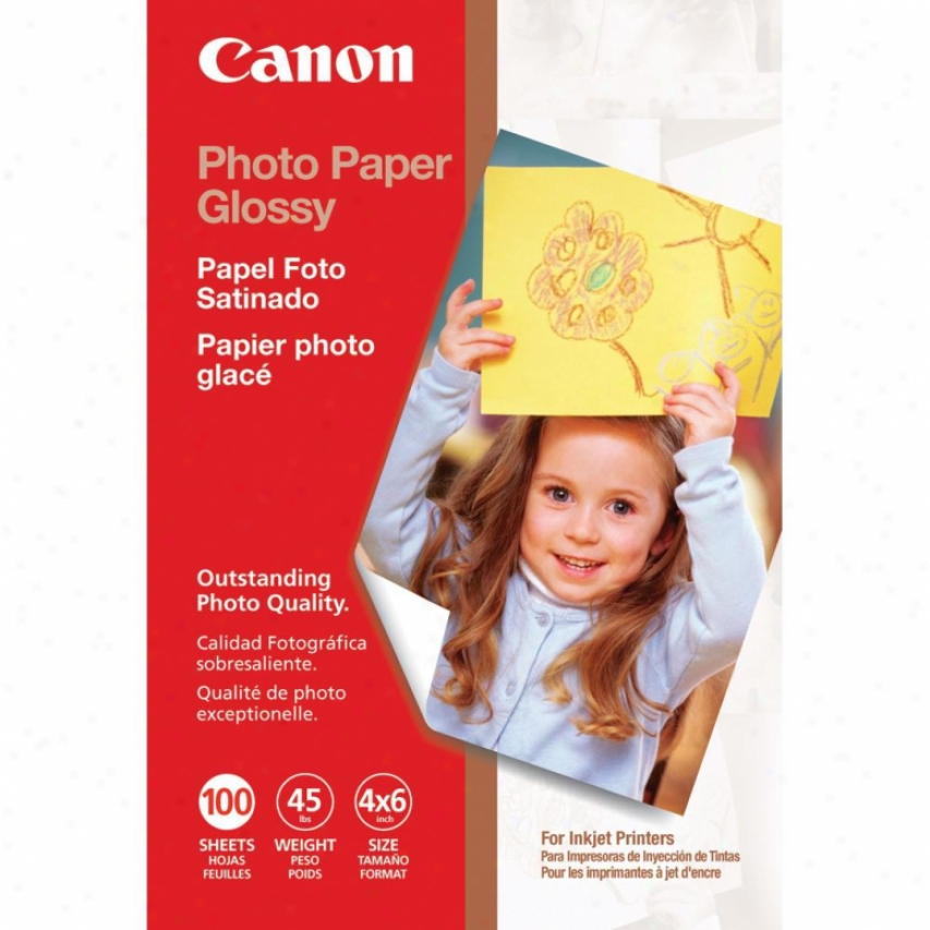 Canon 0775b022 4x6 Photo Glossy News~ - 100 Sheets
