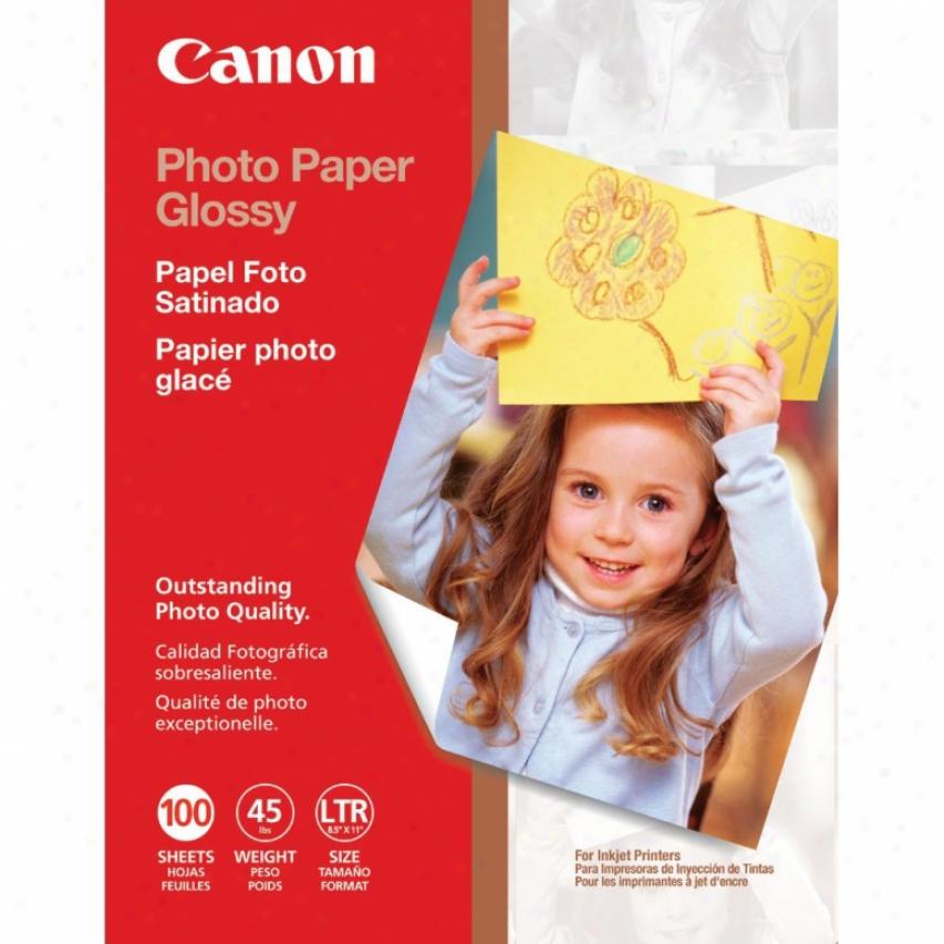 Caon 0775b024 Photo Paper Glossy