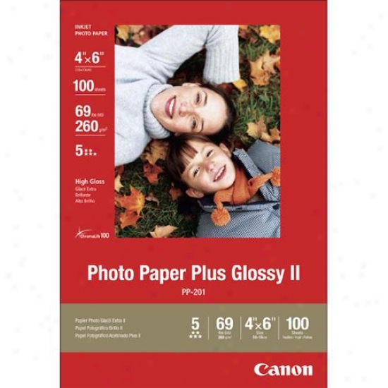 Canon 2311b023 Photo Paper Pous Glossy Ii Vivid Colors With High-quality Finish