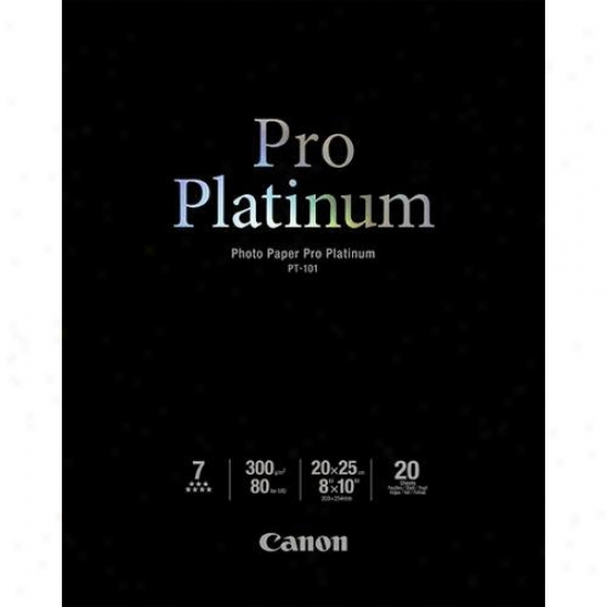 Canon 2768bb019 8x10 Pro Platinum Photo Paper
