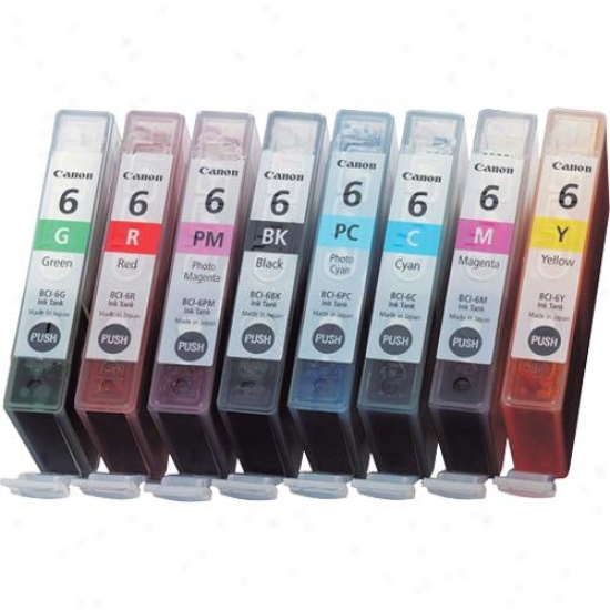 Canon Bci-6 Eight Pack Ink