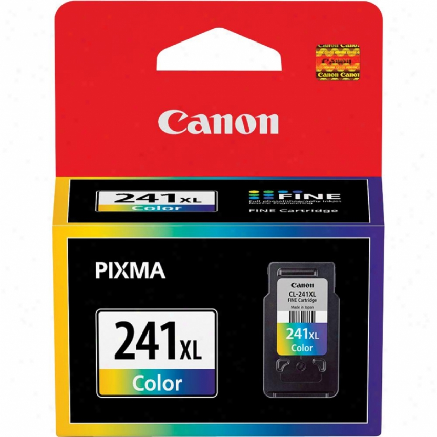 Canon Cl-241xl Unusual Large Color Ink Car5ridge