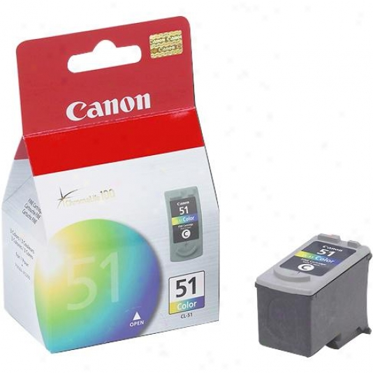 Canon Cl51 High Capacity Color Ink Cartridge
