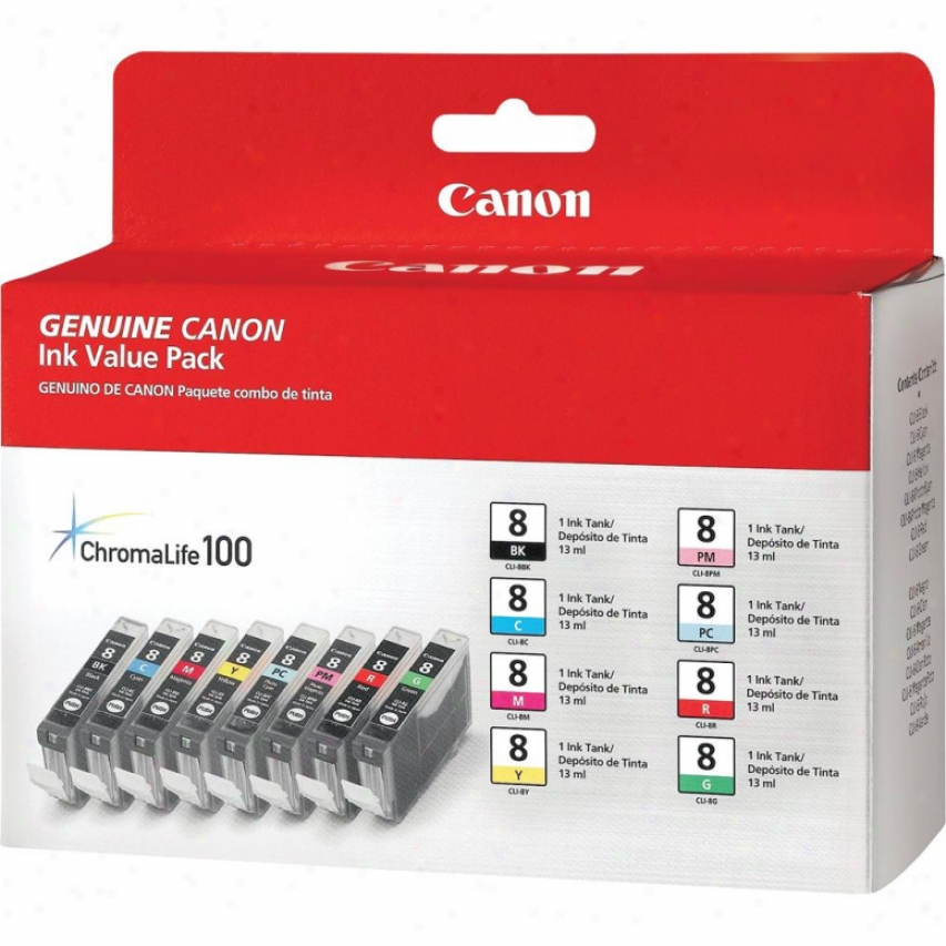 Canon Cli-8 8 Color Multi Paci