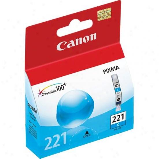 Canon Cli221c Cyan Ink Tank