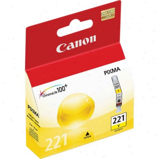 Canon Cli221y Yellow Ink Tank