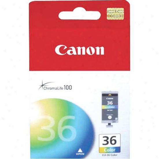 Canon Cli36 Color Ink Tank