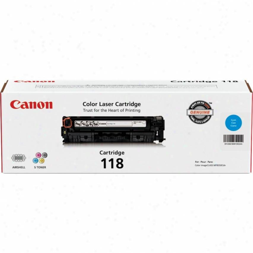 Canon Crg118 Cyan Laser Toner Cartridge