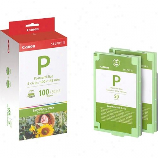 Canon E-p109 Easy Photo-pack - Ink And Paper Integrated Cartridge