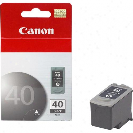 Canon Pg-40 Black Ink Twin Pack