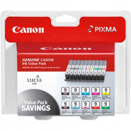 Canon Pgi-9 Color Ink Tank - Package Of 10